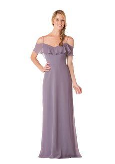 Bari Jay Bridesmaids 1730 Off the Shoulder Bridesmaid Dress