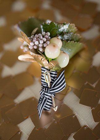 Arrow Wedding Details | Jennifer Rotz Photography | blog.theknot.com