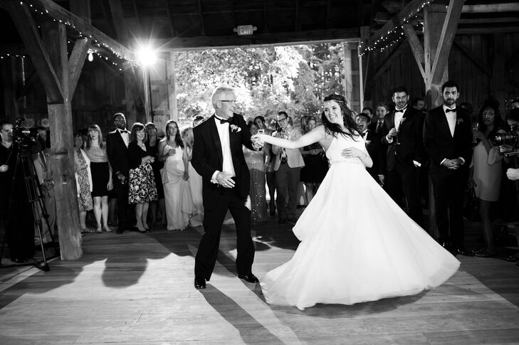 A Father-Daughter Dance at Cherry Basket Farm