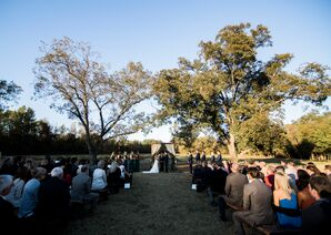 Pecan Trees at Outdoor Ceremony Site