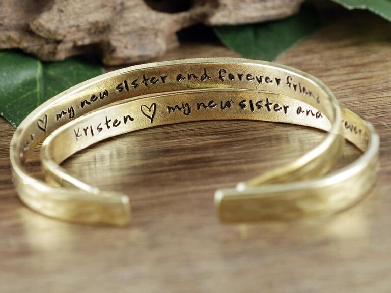 My New Sister and Forever Friend bracelet gift