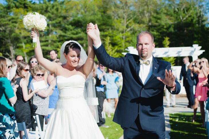 Jacquelyne and Will Recessional