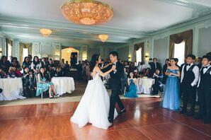 Classic Mint Ballroom First Dance