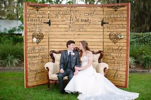 Ranch Wedding DIY Photo Booth