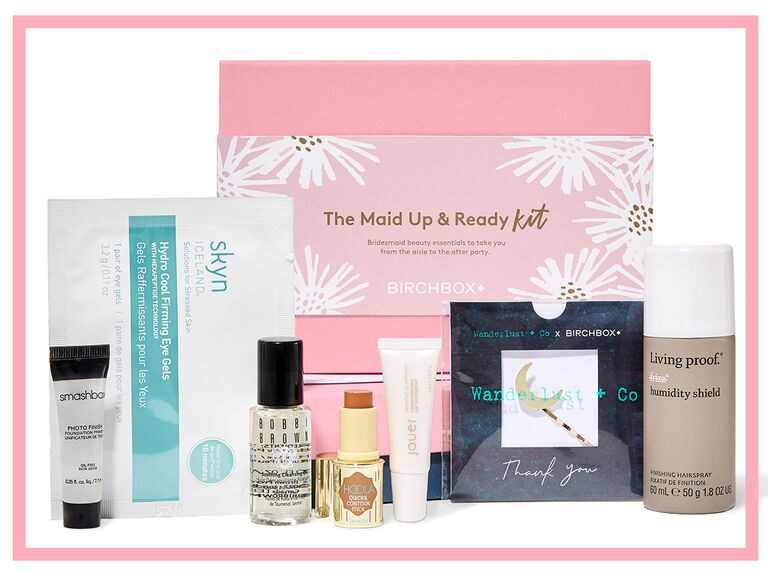 Check Out Birchbox S Maid Up And Ready Wedding Beauty Kit