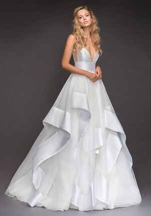 Hayley Paige 6800-Andi Ball Gown Wedding Dress