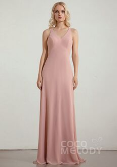 CocoMelody Bridesmaid Dresses RB0352 V-Neck Bridesmaid Dress