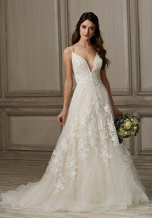 Adrianna Papell Platinum Kinsley A-Line Wedding Dress