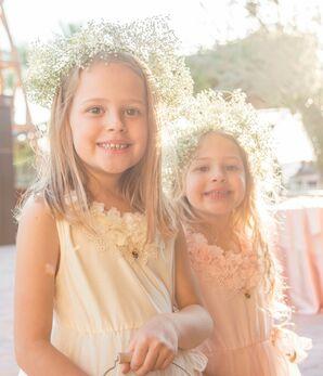 Baby's Breath Flower-Girl Crowns
