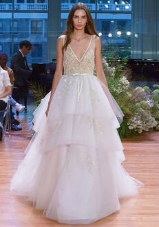 Monique Lhuillier Carnegie Ball Gown Wedding Dress