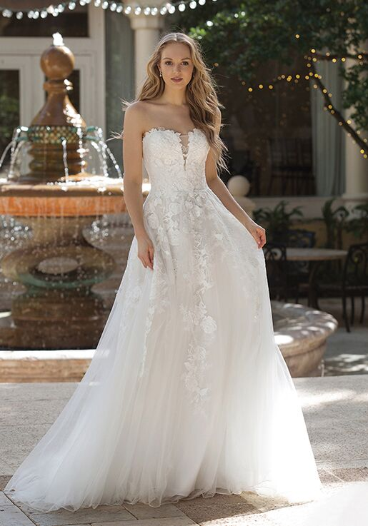 4bf7e1e4699 Sincerity Bridal 44073 A-Line Wedding Dress