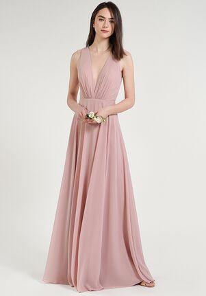 Jenny Yoo Collection (Maids) Ryan V-Neck Bridesmaid Dress