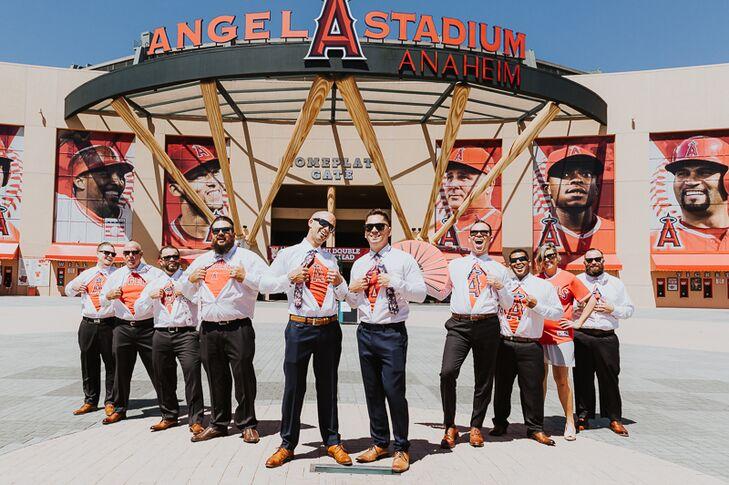 Orange Anaheim Angels Undershirts