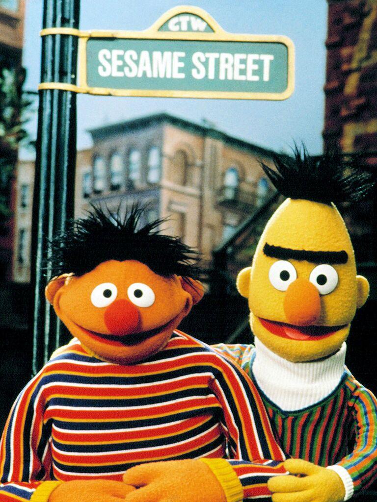 Sesame Street famous tv couples