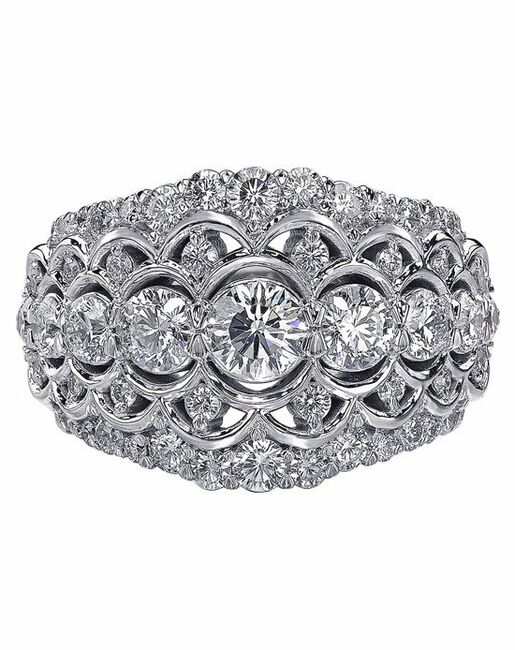 Christopher Designs Round Cut Engagement Ring