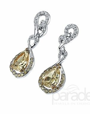 Parade Designs E3639 from the Reverie Collection Wedding Earring photo