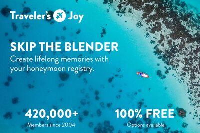 Traveler's Joy Honeymoon Registry