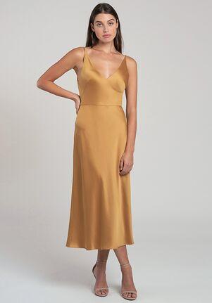 Jenny Yoo Collection (Maids) Marcy V-Neck Bridesmaid Dress