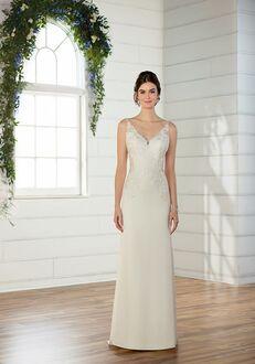 Essense of Australia D2533 Sheath Wedding Dress