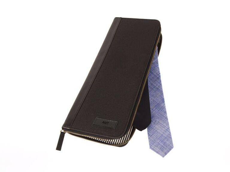 Tie travel bag best man gift from groom