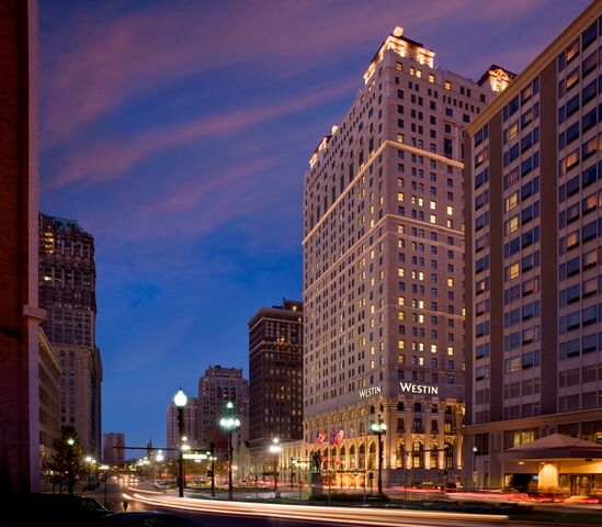 Westin Book Cadillac Closed: Reception Venues - Detroit, MI