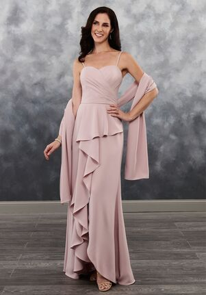 Beautiful Mothers by Mary's MB8022 Black Mother Of The Bride Dress