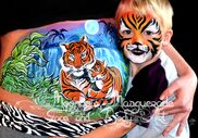 Corbin, KY Face Painting | Moonbow Masquerade Face & Body Art