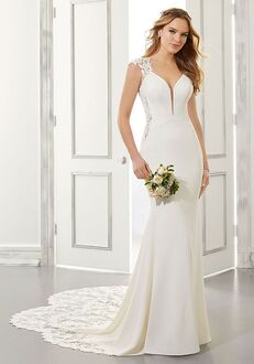 Morilee by Madeline Gardner/Blu Aisha Sheath Wedding Dress