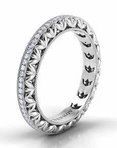 Danhov Petalo Band Platinum Wedding Ring