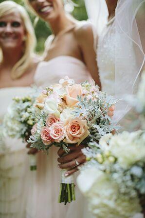Pastel Rose Bridal Bouquet