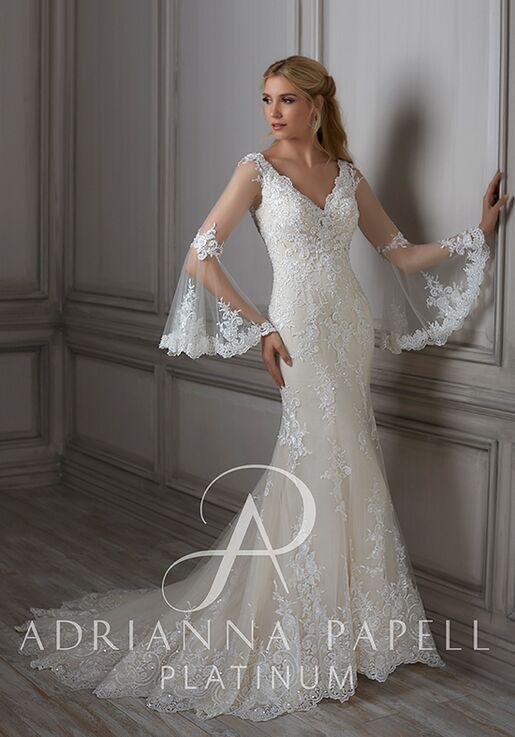 9287a5e545 Adrianna Papell Platinum Flora Wedding Dress - The Knot