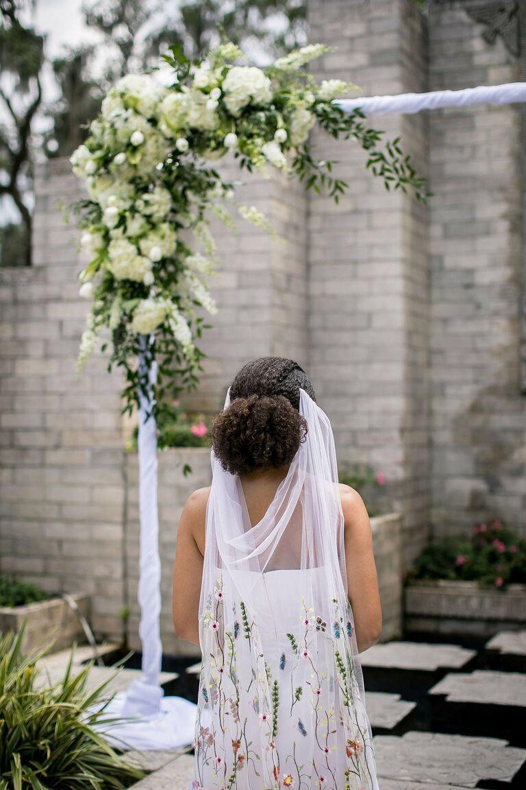 drape veil
