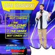Chicago, IL Stand Up Comedian | 2019 Comic of the Year - ADAM GRABOWSKI