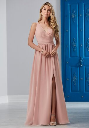 Christina Wu Celebration 22840 V-Neck Bridesmaid Dress