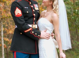 Kourtney Bolbat (22 and a member of the US Marine Corps) and Gary Bolbat Jr. (27 and a member of the US Marine Corps) met through a mutual friend at a