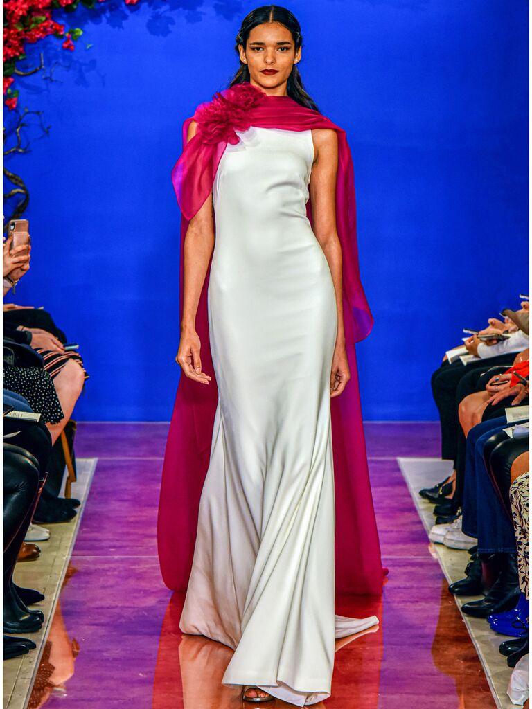 THEIA Sheath Wedding Dress