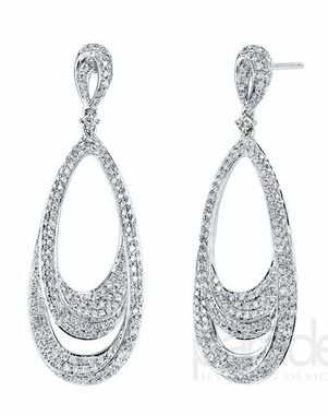 Parade Designs E3185A from the Lumiere Collection Wedding Earring photo