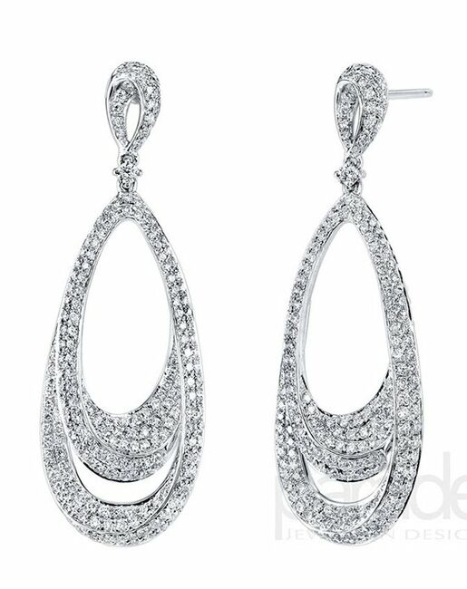Parade Designs E3185A from the Lumiere Collection Wedding Earrings photo