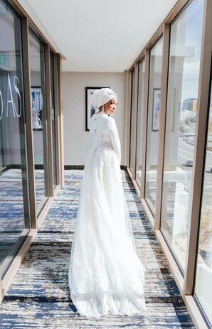 Bride Getting Ready for Wedding at Sandbox in San Diego, California