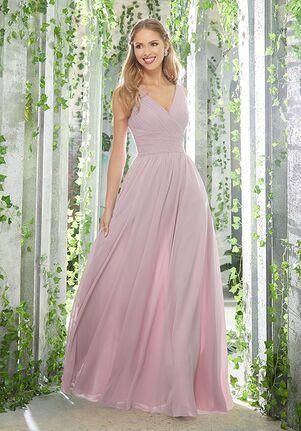 Morilee by Madeline Gardner Bridesmaids 21621 V-Neck Bridesmaid Dress
