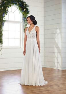 Essense of Australia D3111 A-Line Wedding Dress