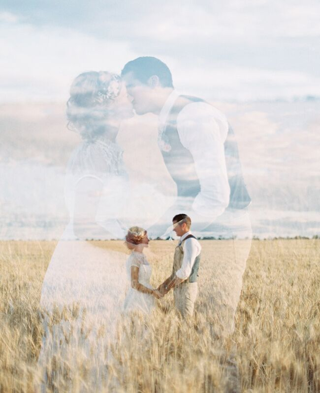 Double Exposure Photography // The Knot Blog