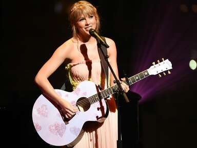 Taylor Swift performing songs from Lover