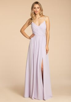 Hayley Paige Occasions 5951 V-Neck Bridesmaid Dress
