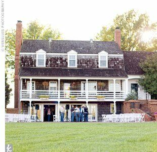 """The couple had originally planned on an urban location, but fell in love with Mildale Farm, close to where Patrick spent most of his childhood. """"The equestrian barn provided the perfect balance of a casual, yet glorious backdrop for our vision of the event,"""" says Ed."""