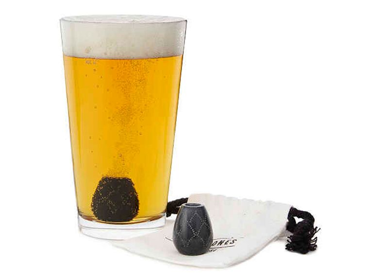 foaming beer stones 7th anniversary gift