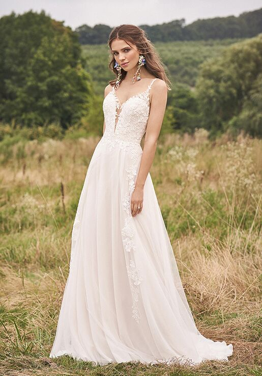 Lillian West 66144 A-Line Wedding Dress