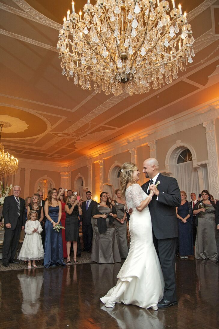 "The newlyweds danced to ""You Are the Best Thing"" by Ray LaMontagne."