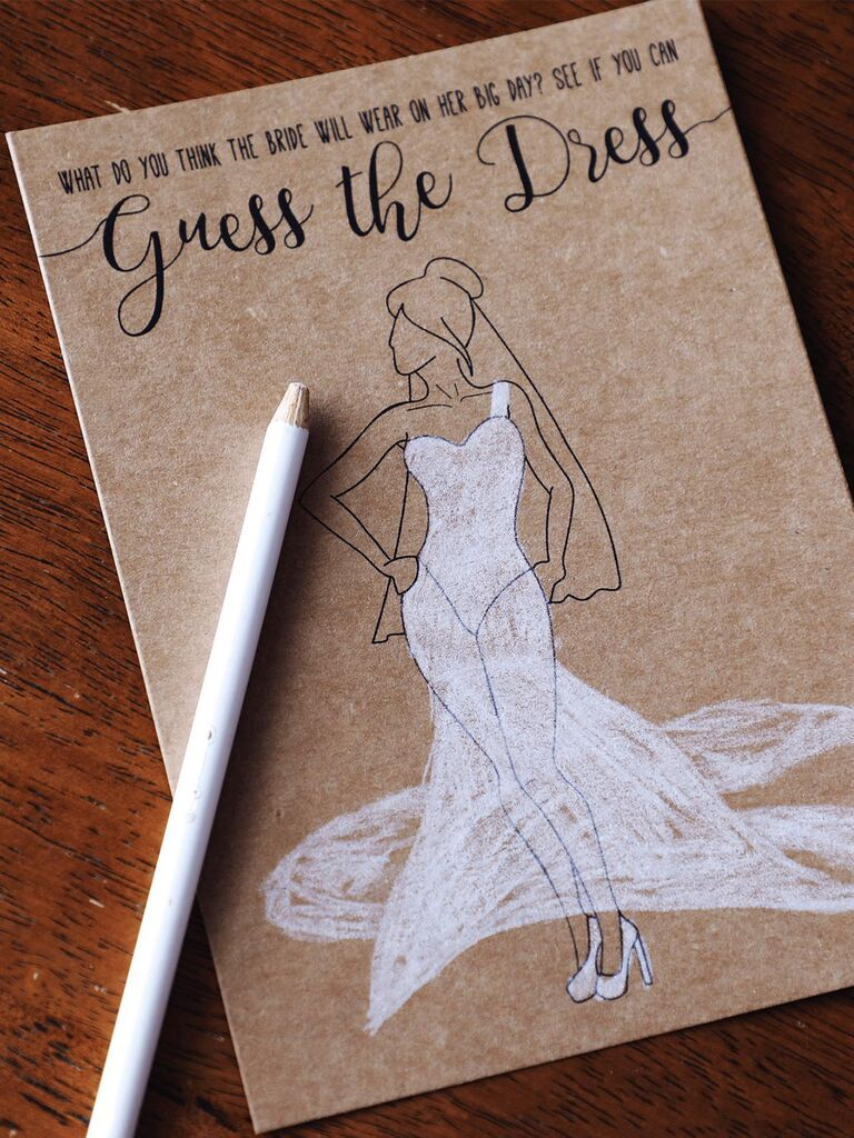 14 Printable Bridal Shower Games Guests Love,How To Dye A Wedding Dress Purple