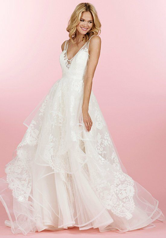 Hayley paige 6458 conrad wedding dress the knot for Wedding registry the knot